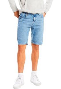 Bermuda Jeans Levis Slim Hemmed Masculina - Masculino-Azul Royal
