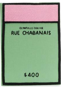 Olympia Le-Tan Bolsa Clutch 'Rue Chabanais' - Green