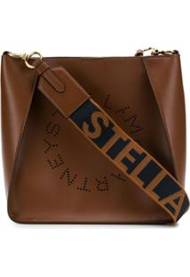Stella Mccartney Stella Logo Shoulder Bag - Marrom