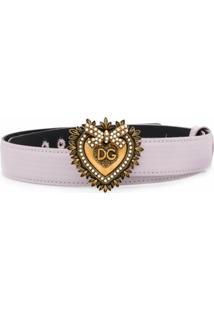 Dolce & Gabbana Cinto Devotion - Rosa