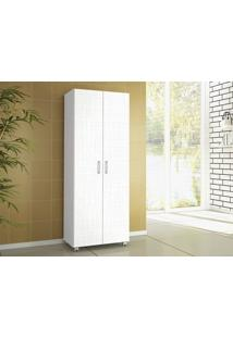 Armário Multiuso Lavanda 2 Portas Linho Branco - Lc Móveis