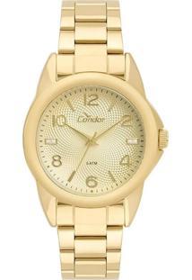 Relógio Condor Feminino Dourado Co2035Kue4D - Kanui