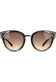 Óculos De Sol Atitude At5385 G22/49 Tartaruga