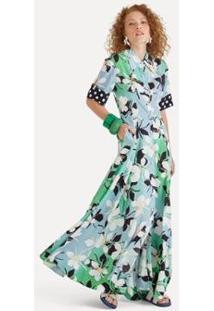 Vestido Longo Mariposa Eva - Feminino