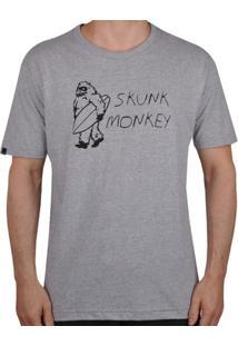 Camiseta Rusty Skunk Monkey - Masculino