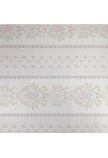 Kit 2 Rolos De Papel De Parede Fwb Adesivo Floral Lilás Fundo Claro - Tricae