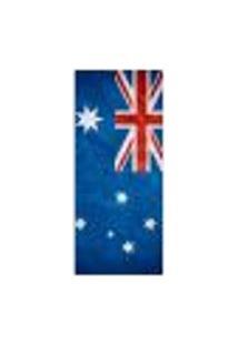Adesivo Decorativo De Porta - Bandeira Austrália - 608Cnpt Auto Colante