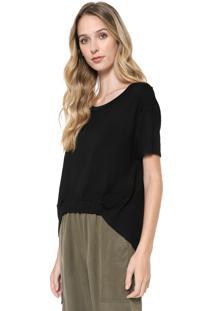 Blusa Calvin Klein Jeans Mullet Preta - Kanui