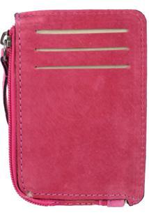 Carteira Crisfael Couro 47 Pink - Kanui
