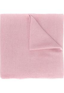 Moschino Cachecol De Tricô - Rosa