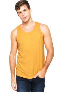a298bf5982e23 ... Regata Calvin Klein Jeans Estampada Amarela