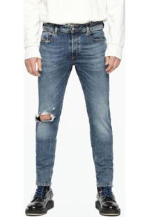 Calça Diesel Sleenker Masculina - Masculino-Jeans
