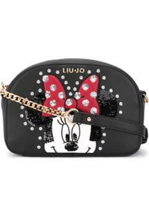 Liu Jo Mickey Mouse Cross-Body Bag - Preto