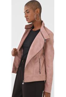 Jaqueta Desigual Recortes Rosa