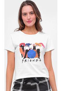 Pijama Acuo Friends Curto Feminino - Feminino