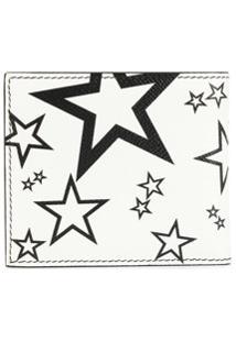 Dolce & Gabbana Carteira Dobrável Com Estampa De Estrela - Branco