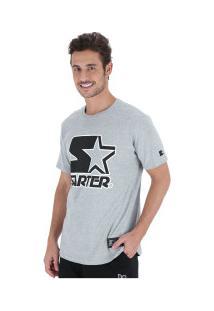 Camiseta Starter Stroke Star - Masculina - Cinza