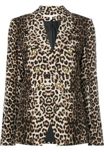 Veronica Beard Blazer Animal Print - Neutro