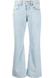 Acne Studios Calça Jeans Bootcut - Azul