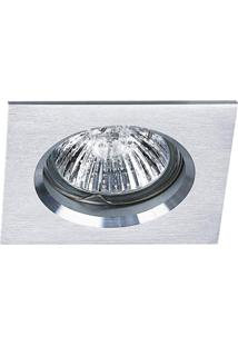 Spot Embutir Quadrado 3Cmx8Cm 40W Gu10 Bella Iluminação - Caixa Com 10 Unidade - Alumínio