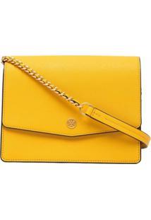 Tory Burch Robinson Convertible Shoulder Bag - Amarelo