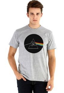 Camiseta Ouroboros Manga Curta Dark Side - Masculino