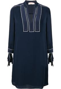 Tory Burch Tunic Shift Dress - Azul