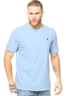 Camiseta Nautica Azul