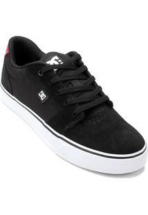 ... Tênis Dc Shoes Anvil La Masculino - Masculino-Preto+Vermelho ef722cc232c4b