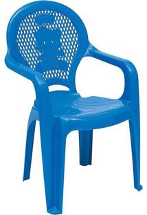 Poltrona Tramontina Catty Estampada Azul