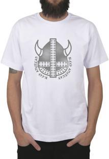 Camiseta Bleed American Vickings Branco