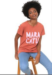 Camiseta Cantão Maracatu Laranja
