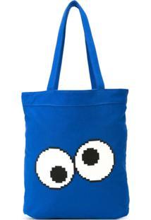 Mostly Heard Rarely Seen 8-Bit Bolsa Tote 'Cookie Cookie' - Azul