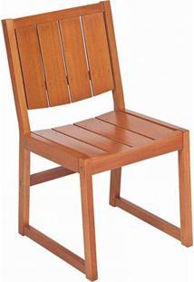 Cadeira Para Jardim Madeira Maciça Malta Siena Móveis Jatobá