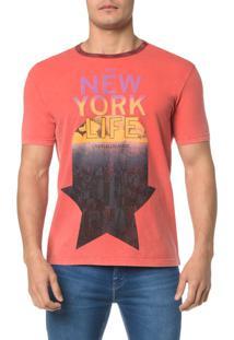 Camiseta Ckj Mc Gola Contraste - P