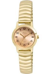 Relógio Condor Feminino Retrô Co2035Kum/4M Co2035Kum/4M - Feminino-Dourado