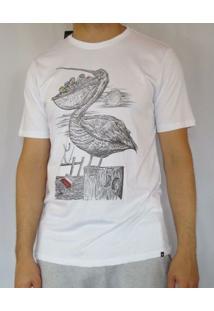 Camiseta Silk Swiped Hurley - Masculino