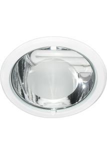 Luminária De Embutir Redonda Branca 1Xe27 Bonin 1220Bc