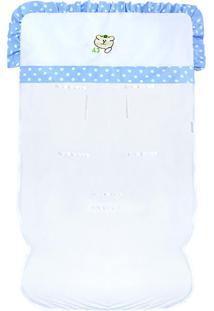Capa De Carrinho Padroeira Baby Tratorista Azul