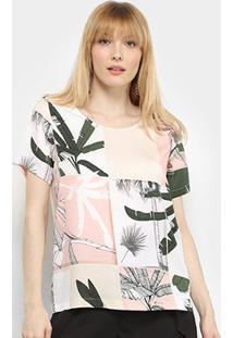 Camiseta Forum Estampada Feminina - Feminino