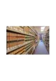 Painel Adesivo De Parede - Biblioteca - 348Pn-P