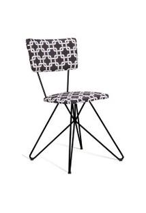 Cadeira Butterfly 0016 Preto E Branco Daf