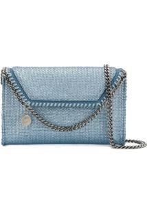 Stella Mccartney Bolsa Tiracolo Falabella - Azul