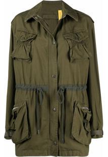 Jw Anderson X Moncler Kynance Army Jacket - Verde