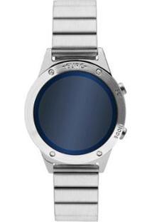 Relógio Euro Fashion Fit Reflexos Feminino - Feminino-Prata