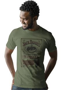Camiseta Artseries Old Time Tenessee Whiskey Verde