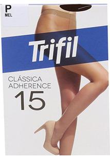 Meia Calça Trifil Adherence Fio 15 Feminina - Feminino-Areia