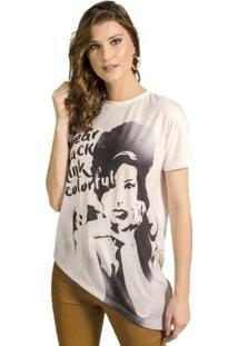 Blusa Assimétrica Alphorria Feminina - Feminino-Off White