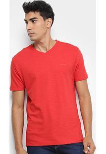 Camiseta Calvin Klein Flame Slim Masculina - Masculino