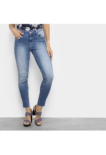 Calça Jeans Lez A Lez Skinny Feminina - Feminino-Jeans